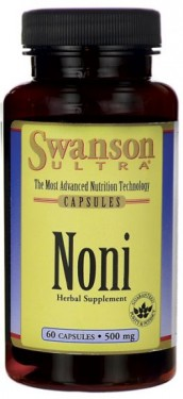 Poze Swanson ULTRA NONI Morinda citrifolia 60 capsule 500mg Sustine capacitatea de autoaparare a Organismului Antioxidant Puternic Pret *