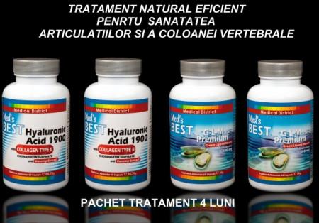 Poze Tratament Natural Eficient Coxartroza, Gonartroza, Afectiuni Reumatismale 4 LUNI Pret Colagen Tip 2 Hyaluronic Hialuronic *