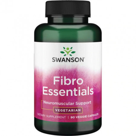 Poze Complex Avansat Fibro Essentials- Neuro Optimizator pentru Sistemul Nervos 90 capsules Swanson