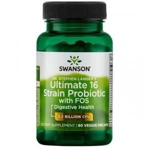 Complex de 16 Probiotice + FOS + ConcenTrace® 72 Minerals cu Prebiotice pentru Imunitate si Apartul Digestiv adjuvant in Helicobacter Pylori - 2 LUNI Pret *