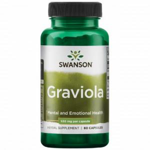 Graviola 600 (530 mg) Annona Muricata 60 capsule Swanson