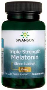 Triple Strenght Melatonin - Melatonina Forte Pura 10 mg 60 capsule Pastile Somn Prospect