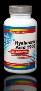 Best Hialuronic Acid 1900 cu Colagen Tip 2, Tratament Naturist Artrita Reumatoida Coxartroza Gonartroza -2 LUNI Pret Hyaluronic *
