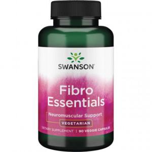 Complex Avansat Fibro Essentials- Neuro Optimizator pentru Sistemul Nervos 90 capsules Swanson