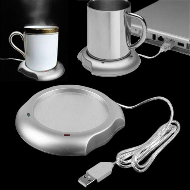 Incalzitor pentru cana de cafea prin cablu USB