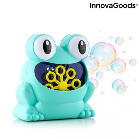 Aparat de facut baloane de sapun bule Froggly