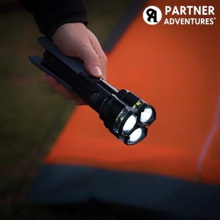 Lanterna LED 3 in 1 cu trepied