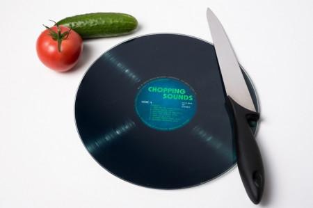 Dog de bucatarie disc muzical