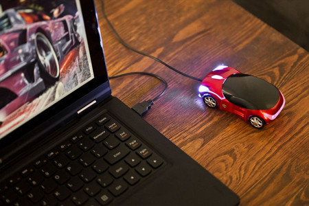 Mouse masina sport
