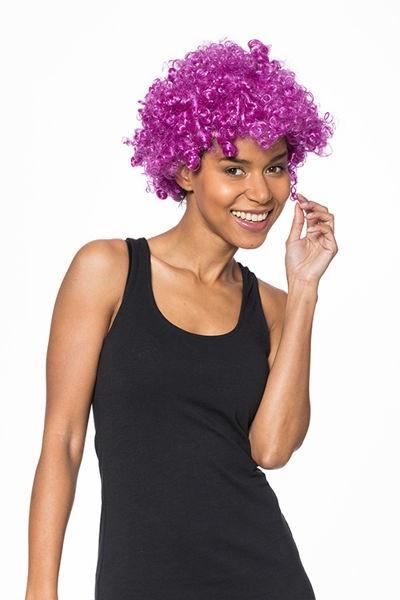 Peruca afro Violet