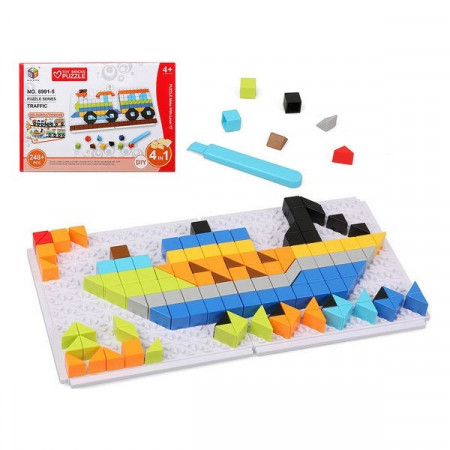 Puzzle Diy Traffic  6 In 1