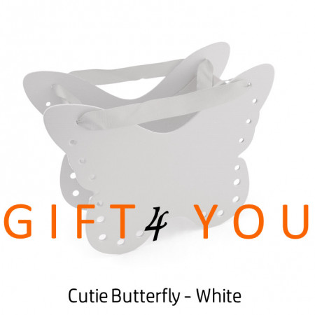 Cutie cadou Butterfly - White