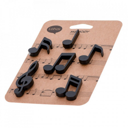 Magneti pentru frigider note muzicale