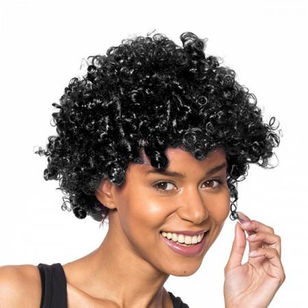 Peruca afro Black