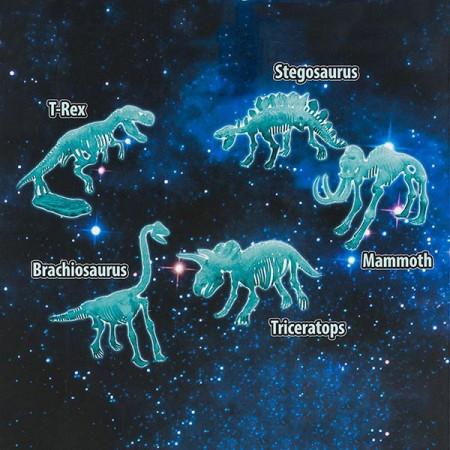 Puzzle 3D fosforescent Dinozaur - Glow Dino