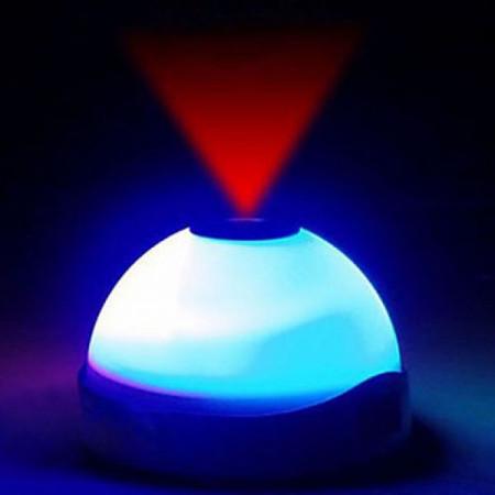 Ceas desteptator cu proiector si lumina LED