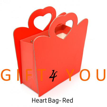 Cutie cadou Heart Bag - Red