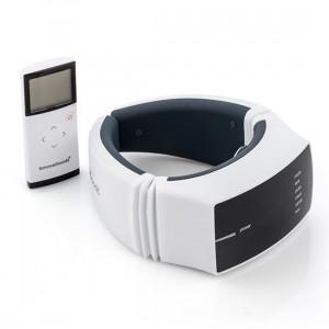 Aparat pentru masaj cervical Deluxe cu 3 functii - masaj termal, electrostimulare si vibratii
