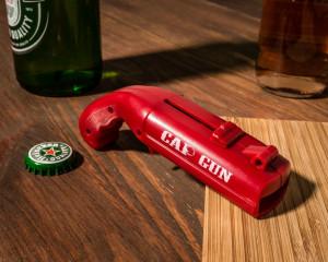 Desfacator pistol pentru sticle de bere