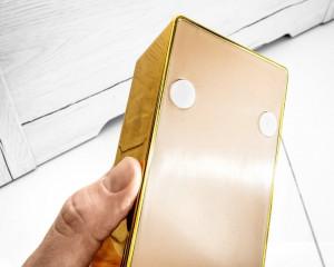 Lingou de aur decorativ