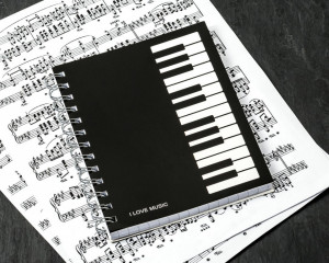 Caiet de notite I LOVE MUSIC
