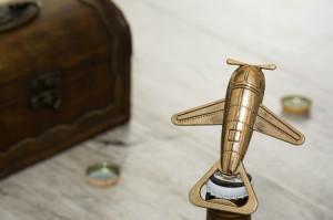 Desfacator de sticle Avion