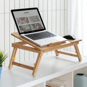 Masuta laptop din bambus LapWood