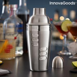 Shaker pentru Cocktail cu 8 retete integrate