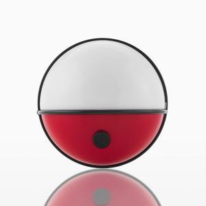Spoturi LED portabile cu telecomanda Pockelamp 4 piese, Ø9x5 cm