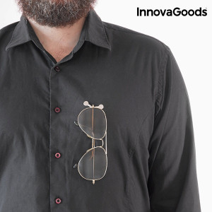 Suport magnetic pentru ochelari tip clips, universal, 2 buc, InnovaGoods