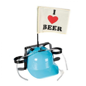 Casca cu paie ''I love beer''