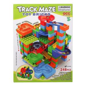 Joc de Construcții cu Plăci Track Maze (248 piese)