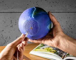 Lampa 3D Glob Pamantesc