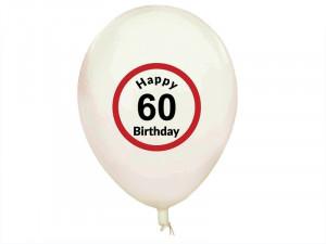"Set de 5 baloane ''Aniversare"" 18-20-30-40-50-60 ani"