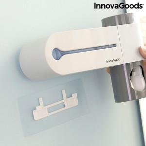 Sterilizator UV pentru periuta de dinti cu suport si dispenser pentru pasta