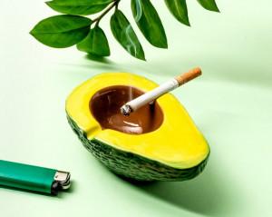 Scrumiera avocado