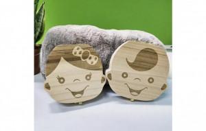 Cutie pastrare pentru primii dintisori fata baiat