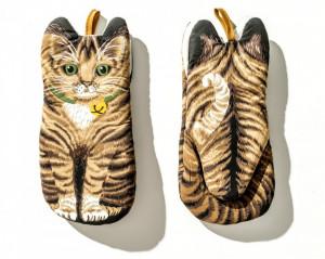 Manusi de bucatarie termoizolante pisica