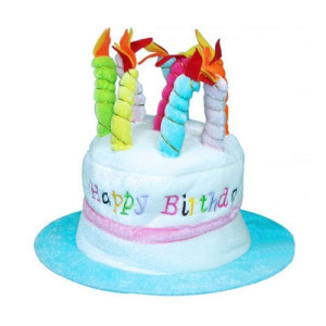 Palarie muzicala Happy Birthday