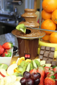 Fantana de ciocolata