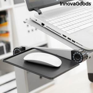 Masa laptop ajustabila din Aluminiu Omnible InnovaGoods Gadget Cool