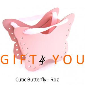 Cutie cadou Butterfly - Pink