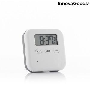 Cutie electronica inteligenta cu Organizator zilnic de pastile si 5 alarme