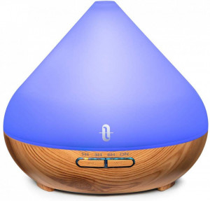 Difuzor aroma ultrasonic LED Wood Mood 300 ml