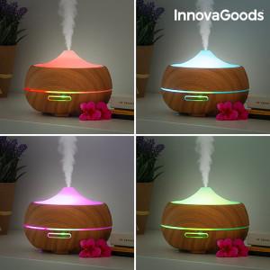 Difuzor aromaterapie Deluxe cu Ultrasunete si 15 moduri de iluminare