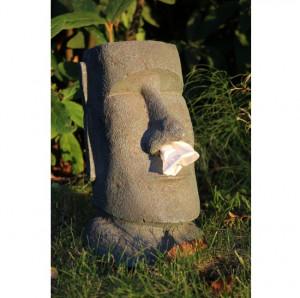 Dispenser decorativ pentru servetele Moai