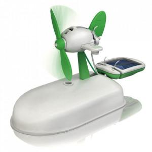 Kit Solar Robot 6 in 1 echipat cu Baterie Solara si Motor
