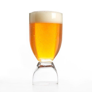Pahar de bere si shot 2 in 1