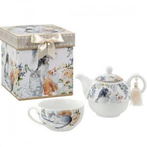 Set de ceai Pisicute