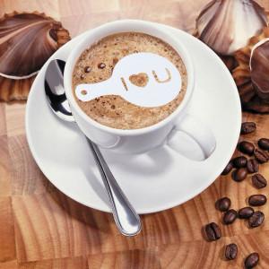 Set decorativ pentru cafea + shaker